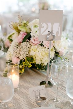 Elegant and Classic Pink Wedding In San Francisco photographed by Adriana Klas Photography at St. Wedding Spot, Diy Wedding, Wedding Flowers, 1920s Wedding, Wedding Photos, Wedding Ideas, Candle Centerpieces, Wedding Table Centerpieces, Wedding Decorations