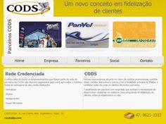 Site institucional para empresa de marketing.