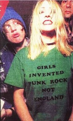 kim gordon... remember when teenage girls wanted to be like her? Let's bring that back.
