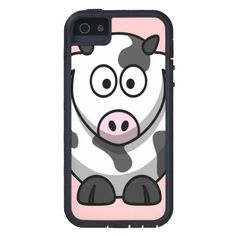 Cute Cow iPhone 5 Cases