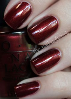 OPI Romeo & Joliet NL S72 / Route 66 collection Fall/Winter 1997