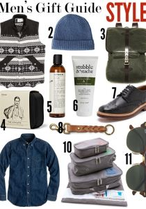Men's Gift Guide 2013 via Cupcakes & Cashmere