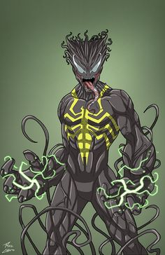 Spartan commission by phil-cho on DeviantArt Marvel Villains, Superhero Characters, Marvel Venom, Marvel Art, Marvel Heroes, Comic Book Characters, Venom Comics, Dc Comics Superheroes, Marvel Dc Comics