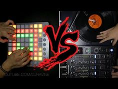 Launchpad vs. Turntable