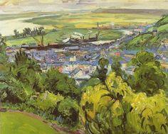 Achille-Émile Othon Friesz - Paysage d'Honfleur, 1939.