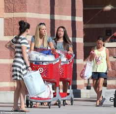Busy mom: Kate Gosselinwas spotted leaving Target in Reading, Pennsylvania…
