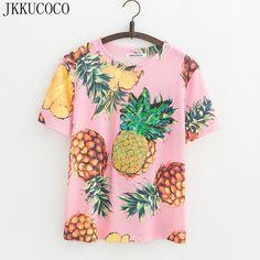 Top Hot Sequined Print Pineapple Women t shirt Short Sleeve     GET IT HERE ==> https://giftsegment.com/top-hot-sequined-print-pineapple-women-t-shirt-short-sleeve-girlfriend-gift-ideas/    #boyfriendgiftideas #friendgiftideas #bestbirthdaygifts