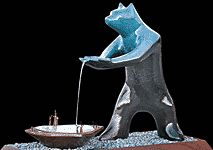 Gene & Rebecca Tobey - The Gift Monument Sedona Arizona, Bears, Fine Art, Gallery, Gifts, Presents, Bear, Gifs, Visual Arts