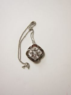 Finnish Sterling Necklace with Pendant by by ModernSquirrel, $150.00