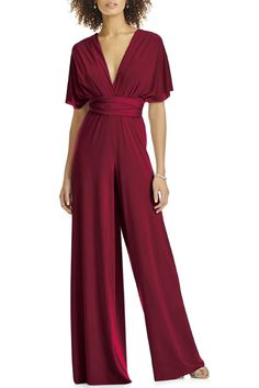 Convertible Jumpsuit Infinity Bridesmaid jumpsuit / Jumper - May 11 2019 at Dressy Jumpsuit Wedding, Wedding Jumpsuit, Jumpsuit Dressy, Jumpsuit Outfit, Halter Jumpsuit, Dressy Jumpsuits For Weddings, Jumper Outfit Jumpsuits, Bridesmaid Rompers, Bridesmaid Gowns