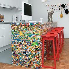 lego kitchen island!
