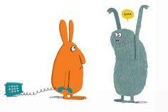 Big Rabbit's Bad Mood by Ramona Badescu, Delphine Durand (Illustrator)