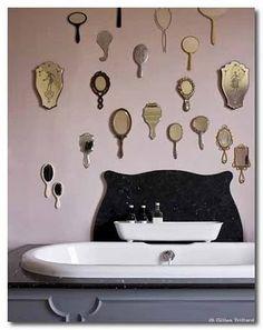 Vanity room!