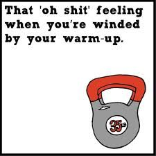 True, I am pretty sure I had that feeling today! CrossFit