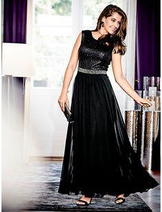 Guido Maria Kretschmer - Abendkleid schwarz im Heine Online-Shop kaufen