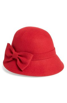 25135f8a5f9ea kate spade new york felted wool downbrim hat available at  Nordstrom Felted  Wool
