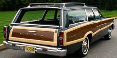 Then, with 2 boys, it was time to get a real station wagon, so how cool would a huge 1966 Ford T be? Ours was RED. Second NEW car I owned.