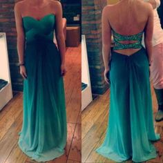 Sexy prom dresses green prom dresses long prom by sposadress, $158.00