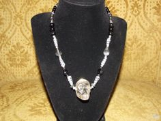 16 1/2 Necklace w/ Crystal Quartz Hand by EnchantingArtistry, $75.95