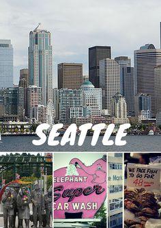 Seattle, une super ville au nord-ouest des Etats-Unis, un bon point de départ pour un road trip dans cette partie du pays.
