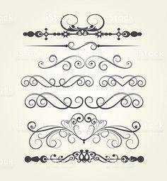 Art elements, retro style, vektor illustration royalty-free stock vector art