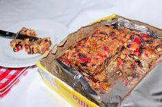 Vanilla Wafer Icebox Fruitcake
