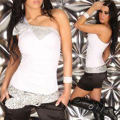 019- HAUT TOP BUSTIER T-SHIRT BLOUSE DEBARDEUR Haut FEMME SEXY TAILLE UNIQUE S/M Top Bustier, Camisole, T Shirt, Formal Dresses, Blouse, Unique, Fashion, Sexy Wife, Fashion Ideas
