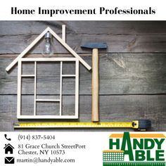 Handyman services are provided by Handyable. Our services are a home repair, renovation, a painting contractor in Westchester, NY since us. Port Chester, Painting Contractors, Westchester County, Best Rated, Home Repair, Home Improvement, Porch, Platform, Construction