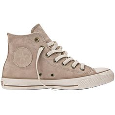 Tênis Converse All Star CT As Suede Hi Bege