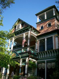 Historical home from Inman Park ... an intown neighborhood not far from downtown Atlanta, GA.