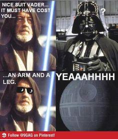 Nice suit, Vader.