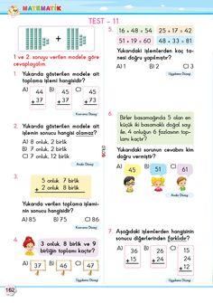 2. Sınıf Soru Bankası Tüm Dersler Süper Kitap Grammar, Bullet Journal, Math, Words, Math Resources, Horse, Mathematics
