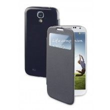 Funda Galaxy Muvit - azul marino con ventana S/. Smartphone, Fundas Samsung Galaxy S4, Car Holder, Tempered Glass Screen Protector, Accessories, Navy Blue, Bags, Jewelry Accessories