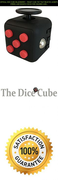 Official Dice Cube (Blackberry) - Fidget Cube Toy that Relieves Anxiety, Stress, and Boosts Focus for Children and Adult; great for Fidgeters with ADHD -Buy the BEST QUALITY, Not the Cheapest Price- #fpv #technology #racing #fidget #products #plans #gadgets #tech #cube #shopping #parts #drone #official #camera #kit