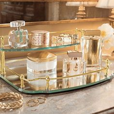 New Bathroom Vanity Tray Display Ideas