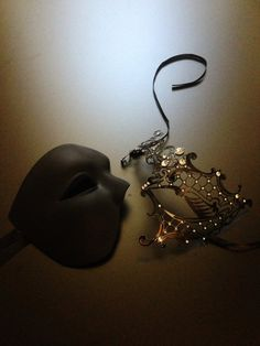 Hey, I found this really awesome Etsy listing at https://www.etsy.com/listing/236494012/his-hers-masquerade-mask-set-couples