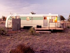 vintage inspired retro #glamping vacation in Texas
