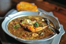 Try this recipe for Susan's Seafood Gumbo. It won't let you down From Louisiana Kitchen and Culture Magazine Try this recipe for Susan's Seafood Gumbo. It won't let you down From Louisiana Kitchen and Culture Magazine Louisiana Kitchen, Louisiana Seafood, Louisiana Recipes, Southern Recipes, Southern Food, Louisiana Gumbo, Southern Hospitality, Creole Recipes, Cajun Recipes