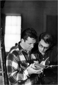 Jack Kerouac and Allen Ginsberg read.
