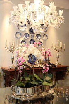 sala de jantar | Anfitriã como receber em casa, receber, decoração, festas, decoração de sala, mesas decoradas, enxoval, nosso filhos