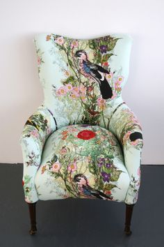 Bloomsbury Garden Dreich Armchair Sold Eclectic Decor