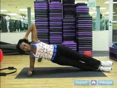 Core Muscle Toning & Strength Exercises : Side Plank Exercise for Core Muscle Toning & Strength