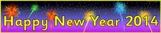 Happy New Year banners (SB3583) - SparkleBox