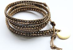 It goes with...everything :) Mixed Metal 4X Wrap Bracelet.