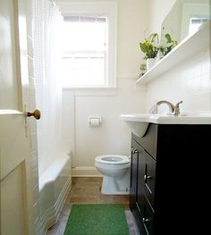 Ahhh, the toilet. Cleaning it is everyone's least favorite job even though a clean toilet is one of the nicer luxuries in life. Especially if you find yourself face to face with one late one night. Here's how to really really get it clean. Mold In Bathroom, Bathroom Renos, Bathroom Layout, Bathroom Ideas, Small Bathrooms, Bathroom Designs, Master Bathroom, Budget Bathroom Remodel, Bath Remodel