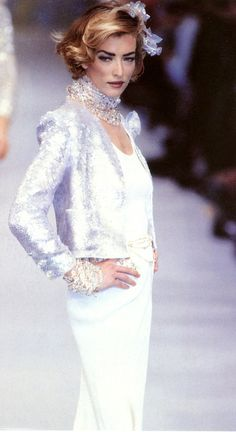Chanel RTW Spring 1992   Tatjana Patitz