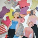 Love these paper dolls- what a throw back in time  #77.Magazine Fashion Paper Dolls