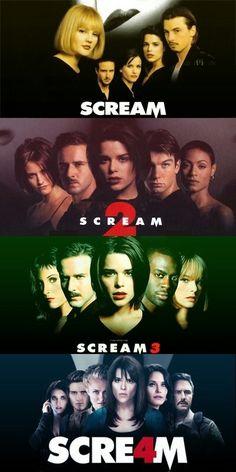 All four Scream films