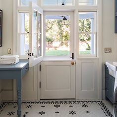 custom Dutch door by @Tineke Triggs