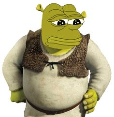 Shrek is disappointed in you.